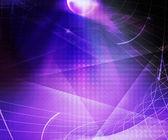 Fundo violeta abstratos tecnologia — Fotografia Stock