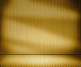 Gold Metal Interior Background — Stock Photo