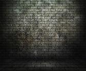 Grunge Brick Room — Stock Photo