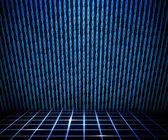 Habitación azul matriz — Foto de Stock
