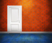 Drzwi w mur — Zdjęcie stockowe