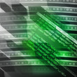 Green Source Code Background — Stock Photo