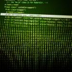 Program Code Green Background — Stock Photo #11608848