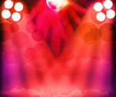 Party Show Room Spotlights Stage Background — Stock Photo