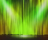 Green Stage Spotlight Background — Stock Photo