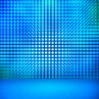 Blue Led Room — Stock Photo