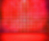 Red Soft Spotlights Room — Stock Photo
