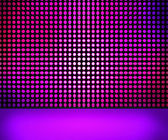 Violed LED Wall — Stock Photo