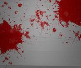 Bloed op papier — Stockfoto