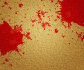 Blood on Canvas — Stock Photo