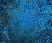 蓝色 grunge 纹理 — 图库照片