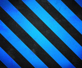 Blue Warning Stripes Background — Stock Photo