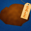 Stockfoto: Sale Clothes Label