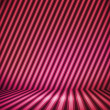 Violet Striped Background Show Room — Stock Photo