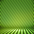 Green Striped Background Show Room — Stock Photo #12203608