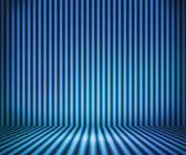 Blue Striped Background Show Room — Stock Photo