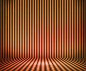 Orange Striped Background Show Room — Stock Photo