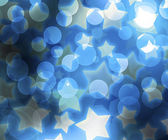 Blue Abstract Stars Background — Stockfoto