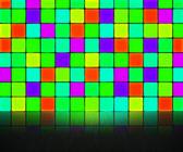 Green Disco Wall Background — Stock Photo