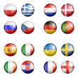 Euro cup 2012 groups — Stock Photo