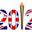 2012 torch — Stock Photo #11169489