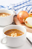 French onion soup — Stock Photo
