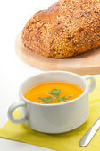 Pumpkin soup — Stock Photo