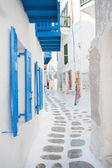 Greek alley — Stock Photo