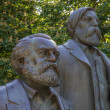 Постер, плакат: Karl Marx and Friedrich Engels