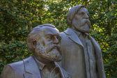 Karl Marx and Friedrich Engels — Stock Photo