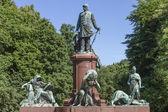 Otto von Bismarck monument — Stock Photo