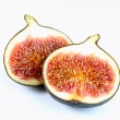 Fresh fig on white background — Stock Photo