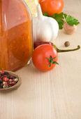 Spezie e ingredienti alimentari — Foto Stock