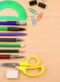 School accessory and copy space — Stock Photo
