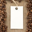 Coffee beans background texture — Stock Photo