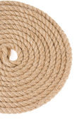 Ship rope on white — Stock Photo