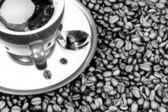 Bilden av kopp kaffe — Stockfoto