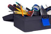 Toolbox full of tools — Stock Photo