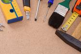 Conjunto de herramientas sobre textura — Foto de Stock