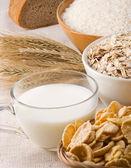 Aantal gezonde voeding — Stockfoto