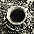 Image of roasted coffee beans — Stock Photo