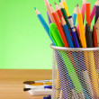 Stock Photo: Back to school concept and office supplies