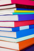 Pile of new books — Stock Photo