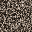Coffee beans on sepia — Foto de Stock