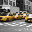 Stock Photo: New York Cabs