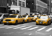 New York Cabs — Stockfoto
