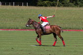 Polo player — Foto Stock
