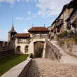 Stock Photo: Castle of Gruyères (Château de Gruyères)