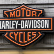 Stock Photo: Harley Davidson logo