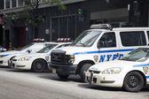 NYPD Patrol cars — Stock Photo